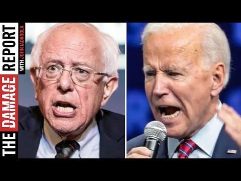 Biden DESPERATELY Attacks Bernie Supporters