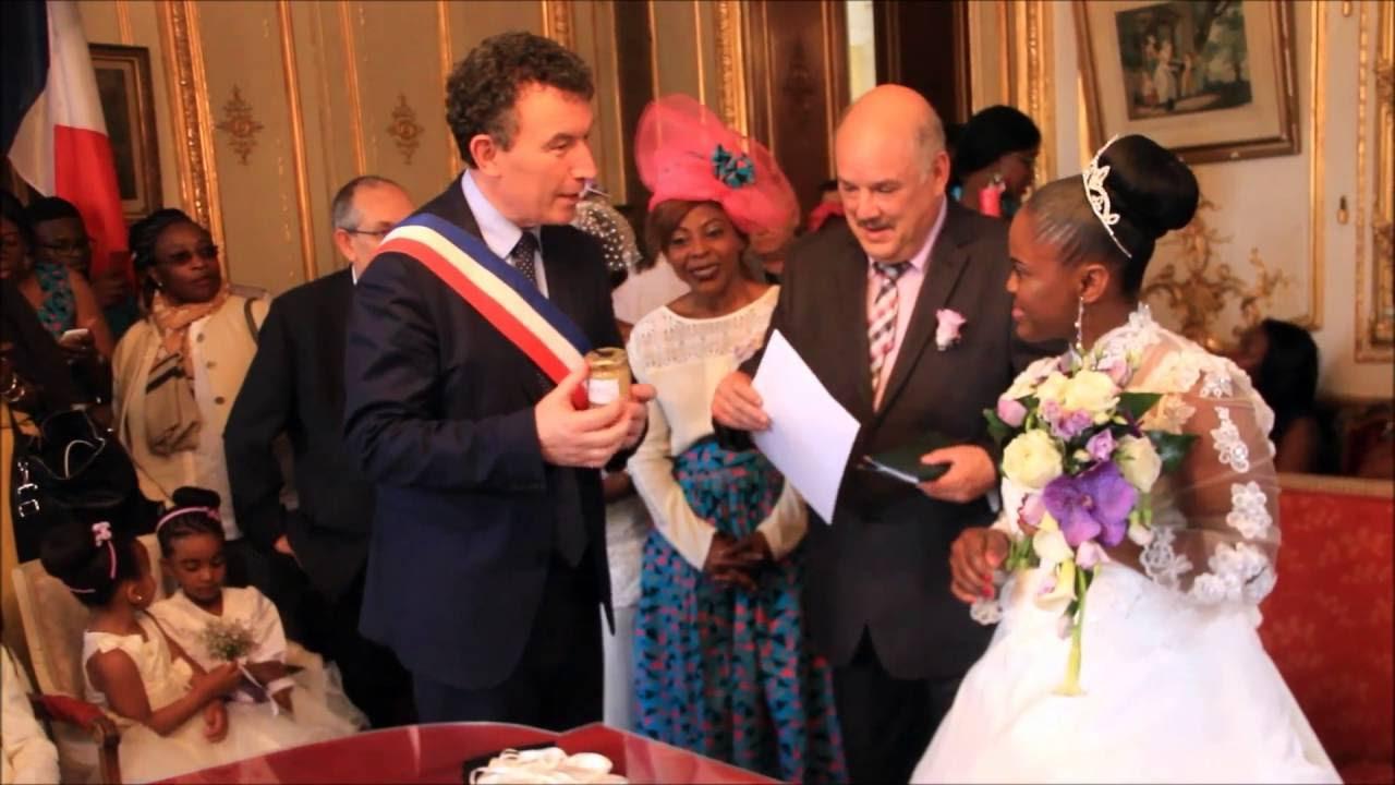 Célèbre Mariage Karine & Jean Pierre - MAIRIE - YouTube XB08