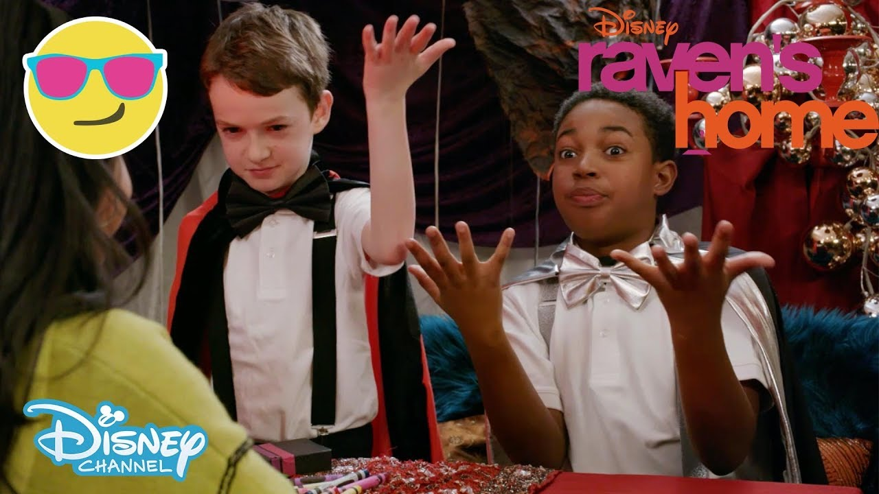 Raven's Home | Tell Me My Future 🔮ft  Levi and Booker | Disney Channel UK