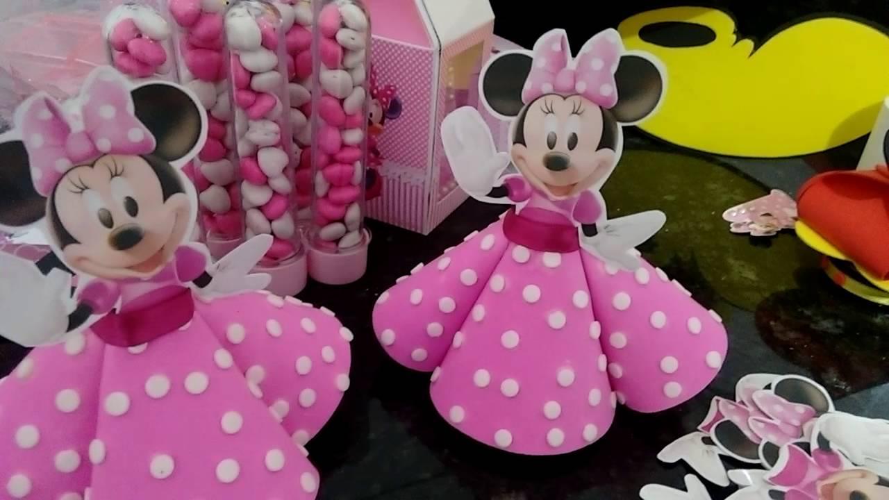 Minnie Rosa Dicas Para Anivers 225 Rio Youtube