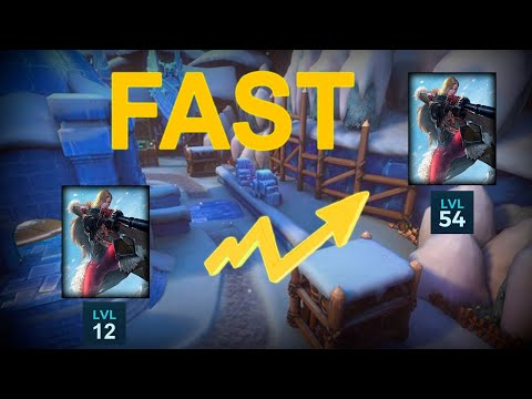 ♥️Paladins HOW TO LEVEL UP CHAMPIONS FAST 2019