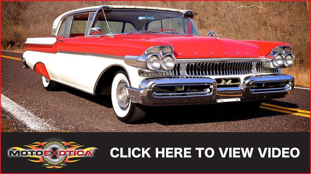 1957 Mercury Turnpike Cruiser (SOLD) - YouTube