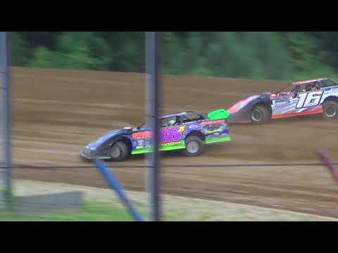 July 21, 2018 Dog Hollow Speedway - Video 2- Heat Race Only. No Features due to Rain.