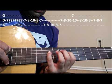 Neele Neele Ambar Par| 2nd Guitar Solo/Lead| Guitar lesson | PART-3