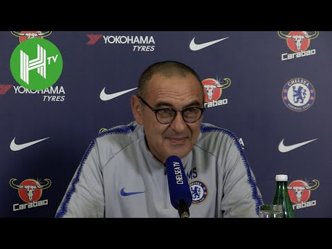 Tottenham v Chelsea | Maurizio Sarri: N'Golo Kante is great but he must score more goals!