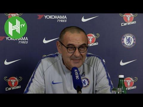 Tottenham v Chelsea | Maurizio Sarri: N'Golo Kante is great but he must score more goals!