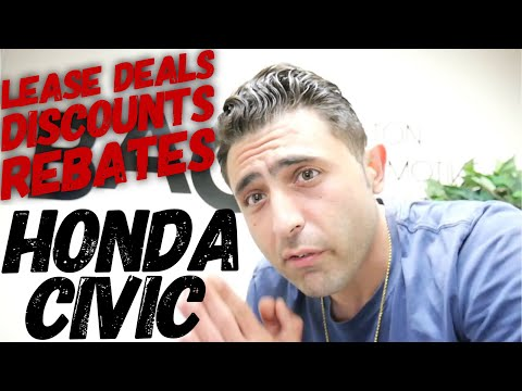 NEW Honda Civic Negotiation Tips. (Lease Deals, Discounts, Rebates, Etc.) (MA Car Broker)