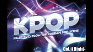 Get it Right- Sara Choi - West One Music- KPOP