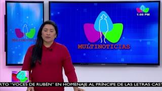 Multinoticias Edición Mediodía, sábado 19 de enero de 2019. #Nicaragua40Revolución
