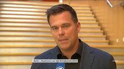 Gero Hocker und Anton Hofreiter zum Erntebericht 2018 am 22.08.18