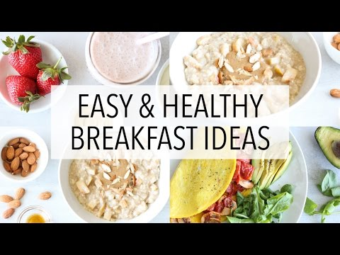 3 HEALTHY BREAKFAST IDEAS Recipes For Weight Loss (+Gluten Free)