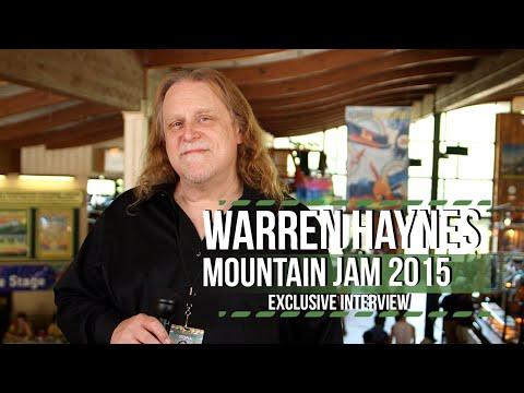 Warren Haynes on Pink Floyd, Neil Young & Mountain Jam