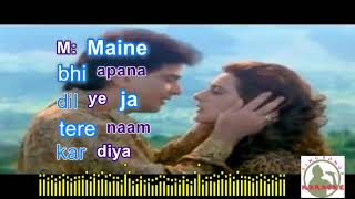Teri mohabbatNe Hindi karaoke for Female singers