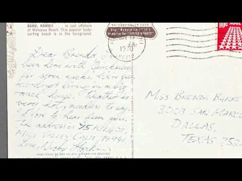 Postcard from Nicky Hopkins