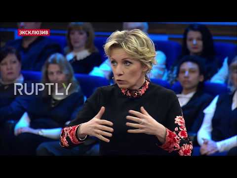 Russia: Zakharova responds to UK's accusations on Skripal poisoning case
