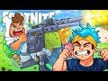 4 MAN FORTNITE TURRET FIRING SQUAD! - Fortnite Battle Royale!