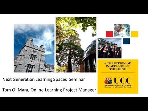 Next Generation Learning Spaces Seminar - Professor John O' Halloran