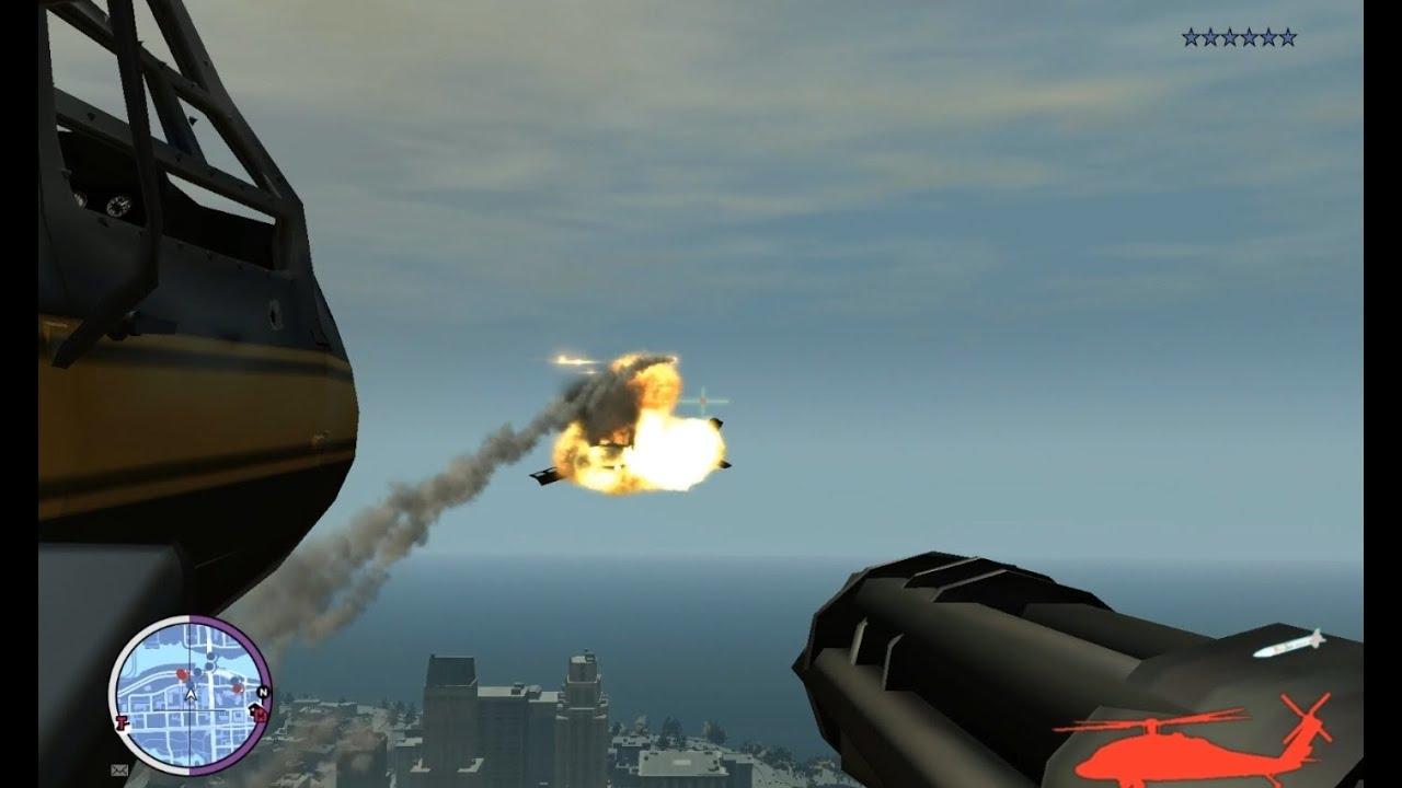 Heli Combat Beta - GTA iV script mod [Cannons, Hellfire launcher, Rocket  lock and gunner mode]