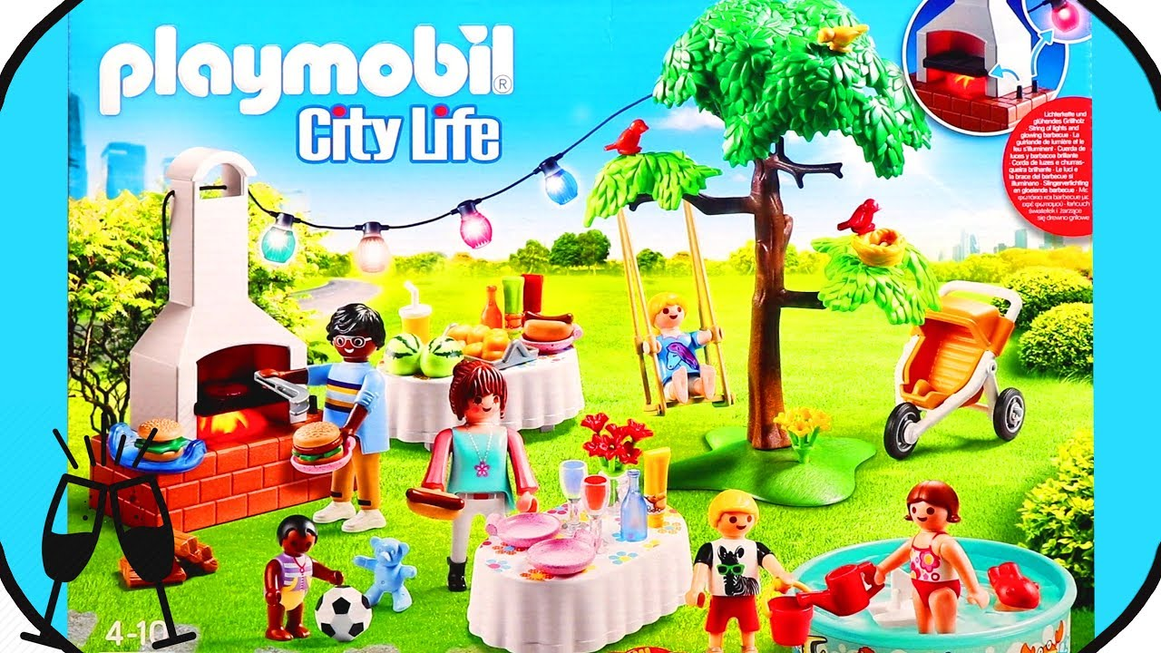 housewarming party Playmobil 9272
