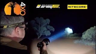 Armytek vs Nitecore flashlights and head-lamps. ArmyTek Barracuda Pro, va Nitecore MH40GTR