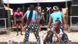 Omoregie Eguasa Live On Stage. Title, Uwonmwen