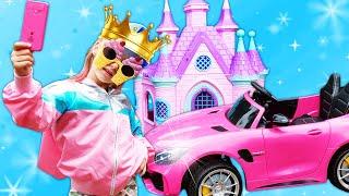 Игры для детей - Набираем Лайки! Как стать принцессой? – Видео шоу о Школе Супергероев.
