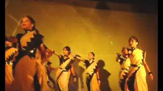 """Dance performance by the students of """"Nrityangan, Silchar"""""""
