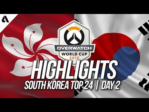 Hong Kong Vs South Korea | Overwatch World Cup 2018 Incheon Qualifier Day 2 thumbnail