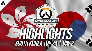Hong Kong Vs South Korea | Overwatch World Cup 2018 Incheon Qualifier Day 2