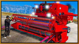 GTA 5 Roleplay - HARVESTER DESTROYING COPS | RedlineRP