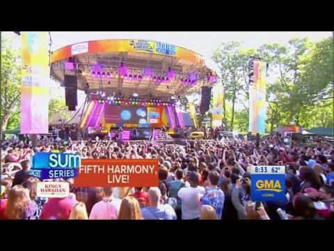 Fifth Harmony Work From Home live on Good Morning America (full performance)