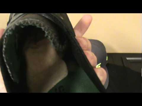 Supra TK Society & Thunder Low Black/Green Nylon