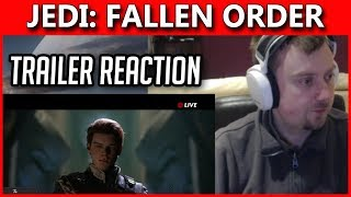 Star Wars Jedi: Fallen Order Trailer Reaction | Some thoughts and ramblings...
