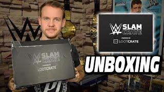 WWE Slamcrate Unboxing by Lootcrate   WWE Nerdstuff