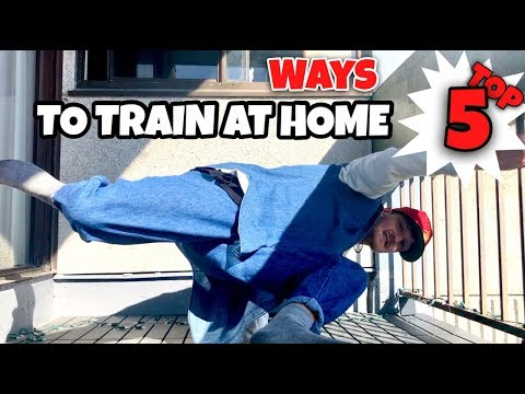 Breaking Tutorial | Top 5 Ways To Breakdance In Small Spaces | Actually Progress During Quarantine