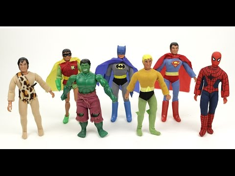 Mego Talk #1: Mego Action Figures from the 1970s!!