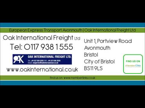 European Express Transport Avonmouth | Oak International Freight