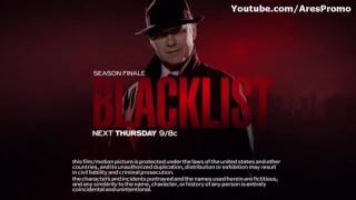 The Blacklist 3x23 Promo Season Finale The Blacklist Season 3 Episode 23 Preview HD