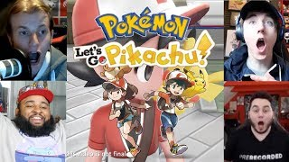 GAMERS REACTIONS TO POKEMON LET'S GO PIKACHU AND EEVEE (Reaction Compilation)