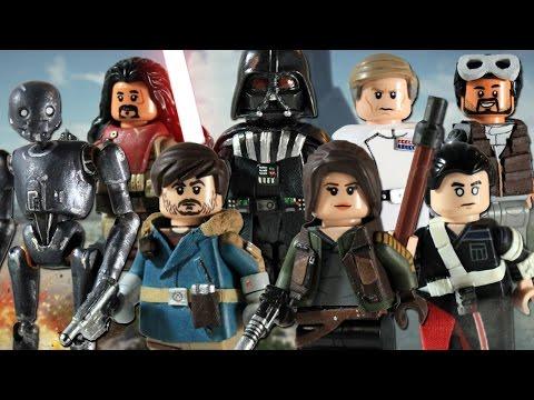 Custom LEGO Rogue One: A Star Wars Story Minifigures