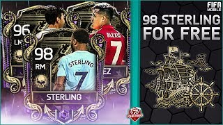 FIFA MOBILE 18 HOW TO GET 98 STERLING F2P #FIFAMOBILE TREASURE HUNT HOW TO & PACK OPENING