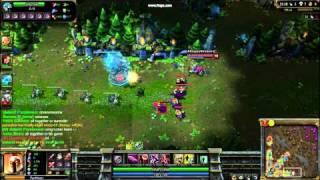 League of Legends: Tristana ulti win