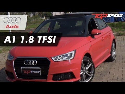 Avaliação Audi A1 1.8 TFSI | Canal Top Speed