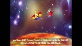Gambar cover Cupita Lady Astro, Lagu Anak Astronomi, Planet-Planetku