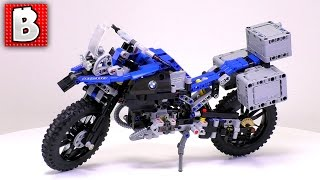Lego BMW R 1200 Technic Motorcycle Set 42063 + Darth Vader | Unbox Build Time Lapse Review