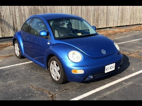 1999 Volkswagen Beetle 20 GLS Long Term Review and Drive - YouTube