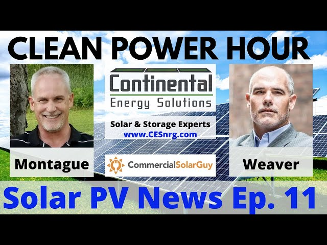Clean Power Hour Ep.11 - Google Pledging CO2 Free 24/7 by 2030