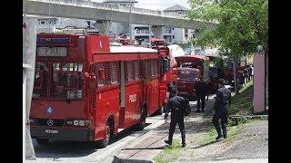 Police secure temple area following Adib's death