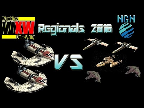 Star Wars X-Wing Miniatures | Maritime Regionals - Game 7: D