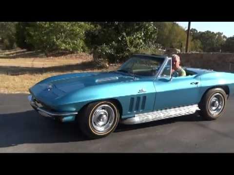 1966 Corvette Stingray >> 1966 Corvette 427 425HP - YouTube